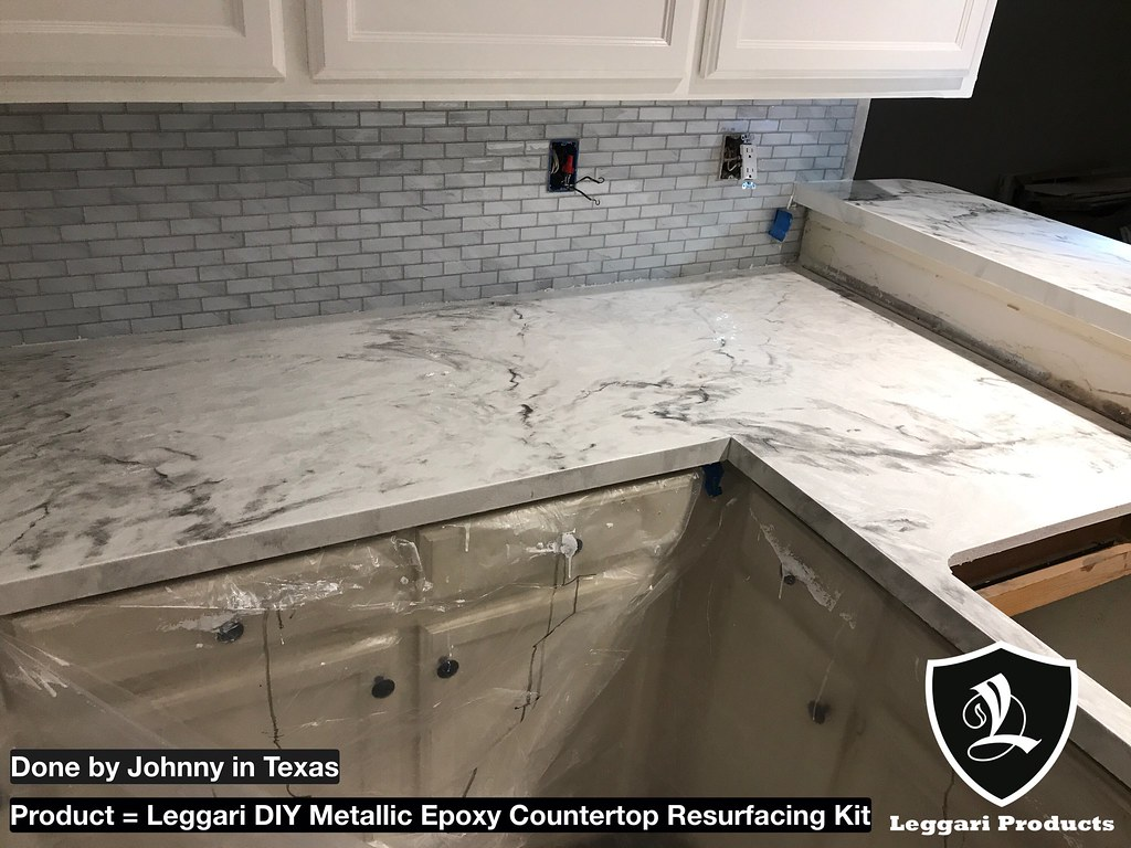 ... #white #marble #countertop #kits Right Over Your Existing #countertops