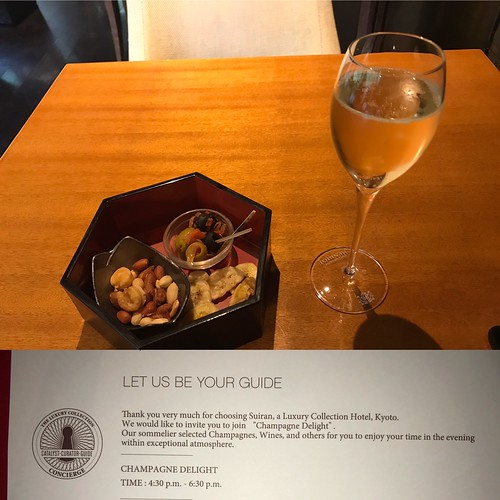 Champagne Delight - Suiran Kyoto | by travelguys1
