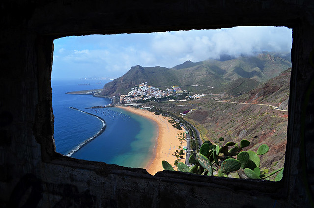 San Andrés from the bunker, Tenerife