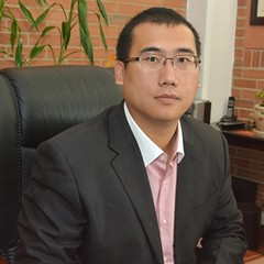 Kefu Liu, Gerente de Comercializadora Liu