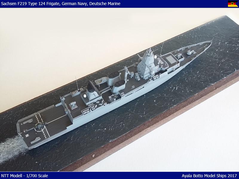 FGS Sachsen F219 (Type 124) Frégate de défense antiaérienne - NNT 1/700 36333105782_0951e70405_o