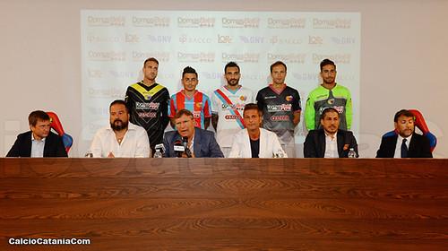 Catania: svelate le maglie per la stagione 2017/18