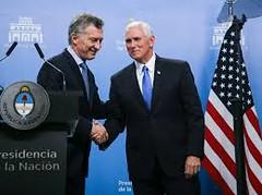 Mauricio Macri recibió al vicepresidente de Estados Unidos