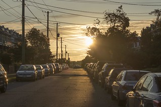 brightwood park street sunset high quality (1 of 1) | by JustinCEO