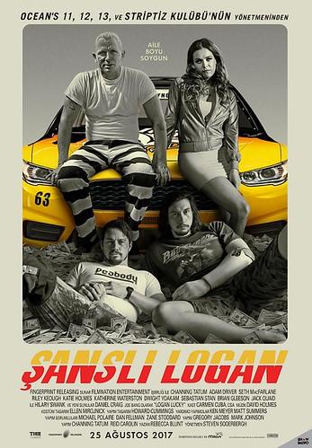 Şanslı Logan - Logan Lucky (2017)