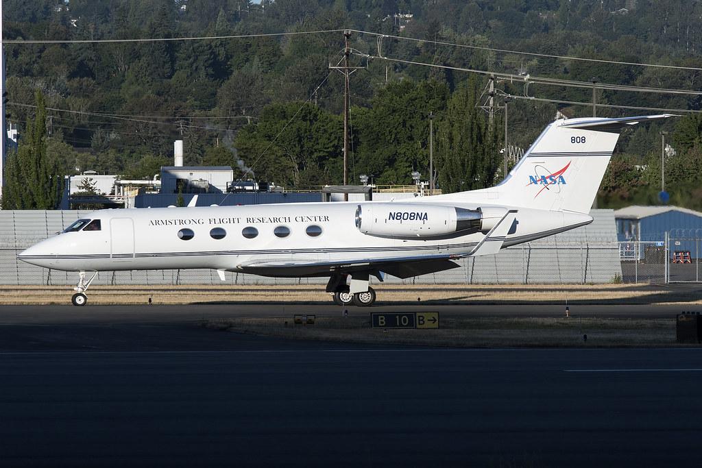 NASA Gulfstream III N808NA | royalscottking | Flickr