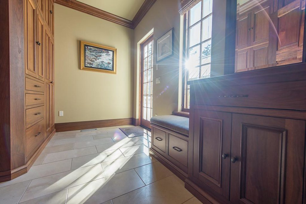 ... The Mud Room Serves As Another Primary Entry To The Main House With Its  Crystal Walnut