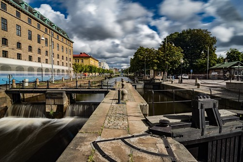Slussportar / Lock gates | by lmbythesea