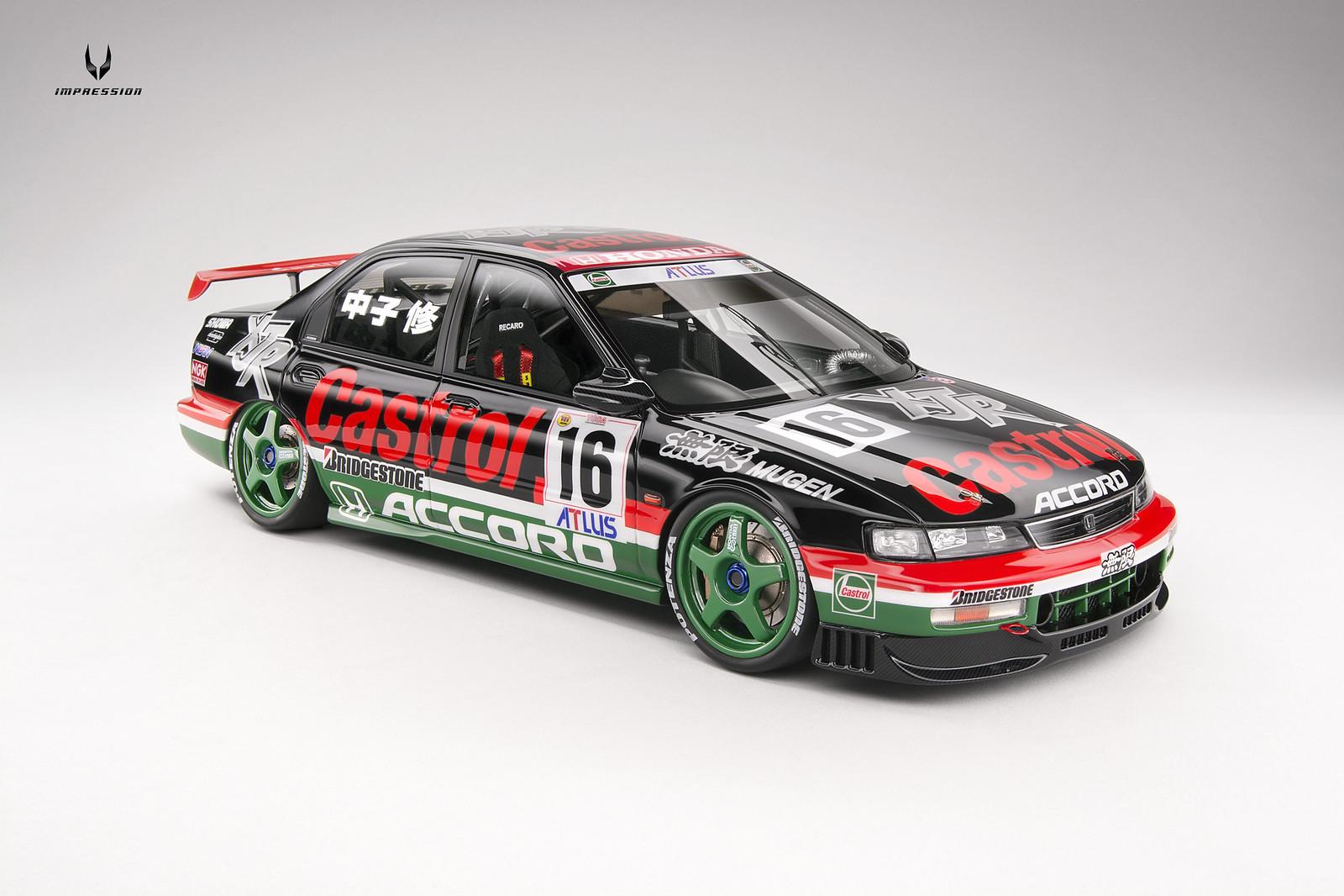 1 18 Honda Accord Jtcc 1996 16 Castrol Mugen Inno Models