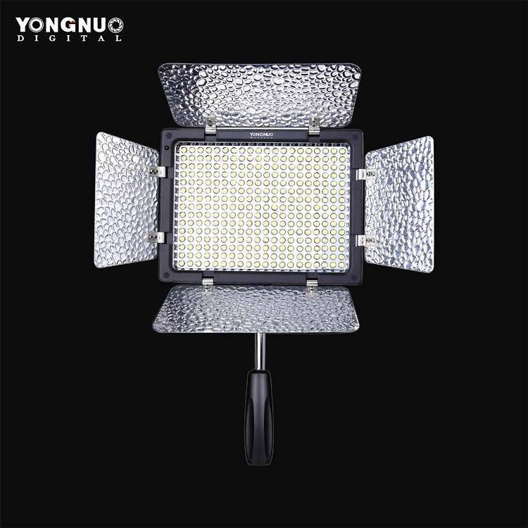 eclairage lampe studio photo yongnuo 300ii 300 led 1 batterie np f970 chargeur ebay. Black Bedroom Furniture Sets. Home Design Ideas