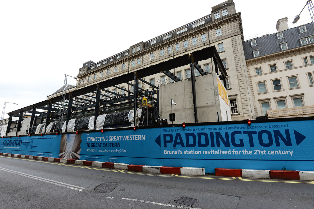 ... Paddington station - canopy steel framework under construction_270600 | by Crossrail Project Press Images  sc 1 st  Flickr & Paddington station - canopy steel framework under construcu2026 | Flickr