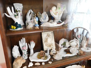 Collection of glass ladyies hands | by thornhill3
