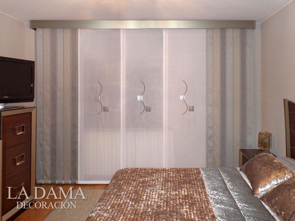 Dormitorio moderno con panel japones y galer a for Panel japones moderno
