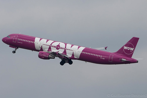 Airbus A321 WOW Air TF-KID MSN 5681 | by Guillaume Besnard Aviation Photography