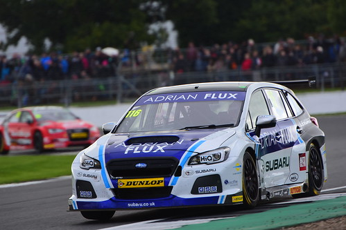Ashley Sutton, Subaru Levorg, British Touring Car Championship, Silverstone 2017