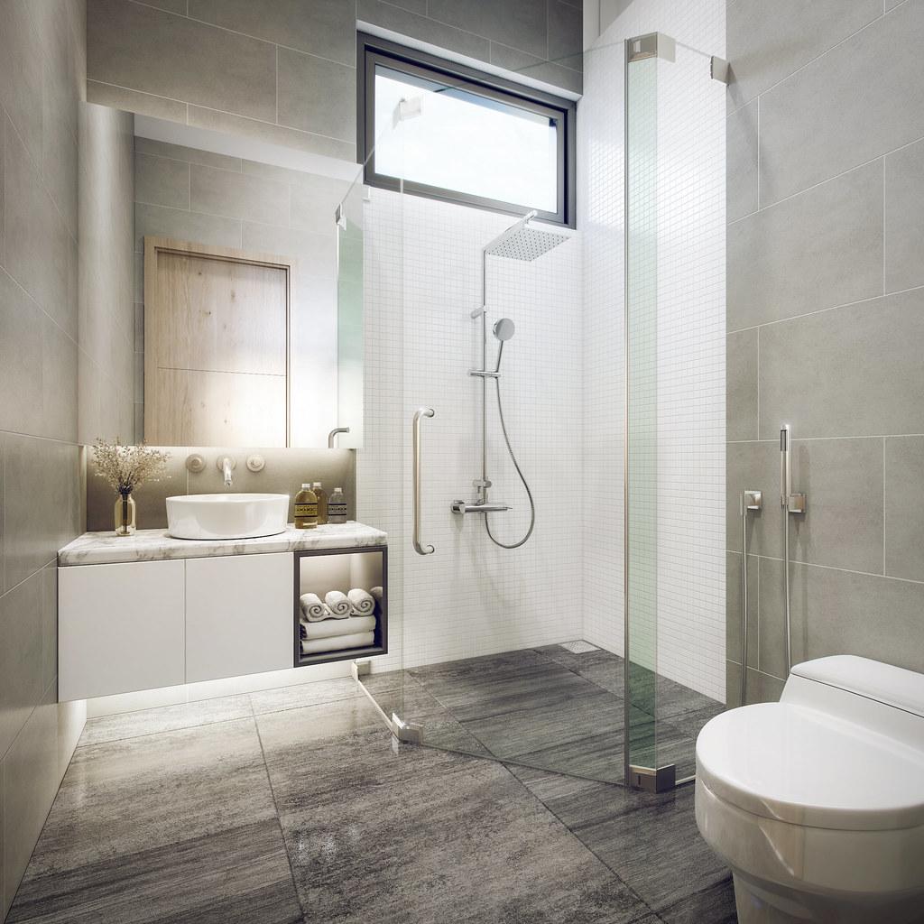 Bathroom Ascent Penthouse Client Mr Dung Iam