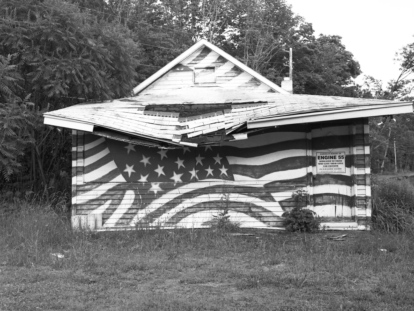 Land of the free.  Home of decay. | by Gregg Obst