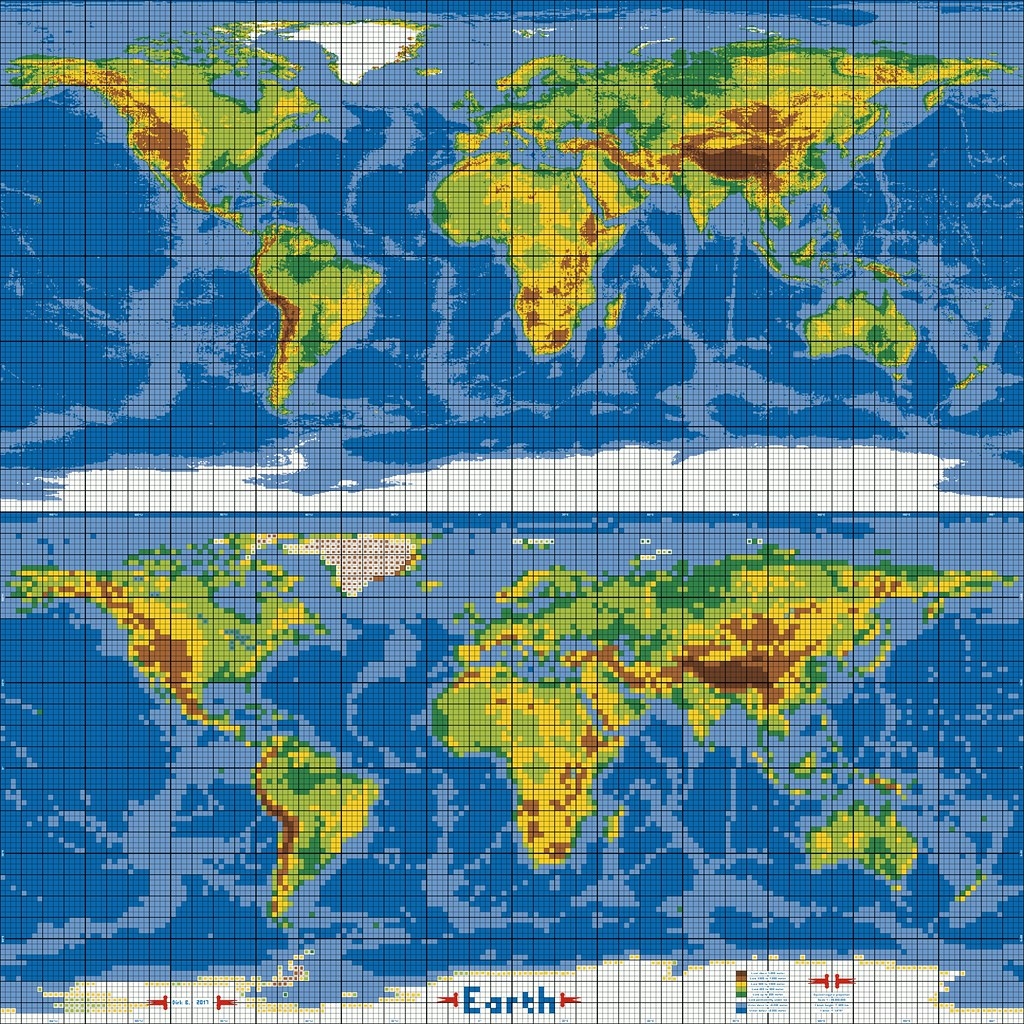 dirks lego world map 30 marble versus pixel grid by dirkb86