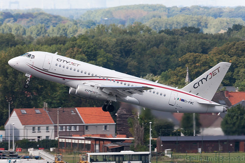Sukhoi Superjet 100-95B Cityjet EI-FWC cn 95111 | by Guillaume Besnard Aviation Photography