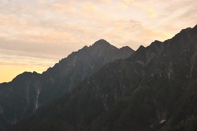 北アルプス・剱岳