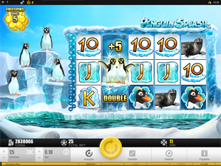 Penguin Splash Slot Feature