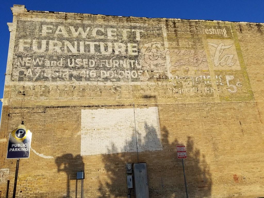 ... San Antonio, TX Fawcett Furniture Ghost Sign | By Army.arch