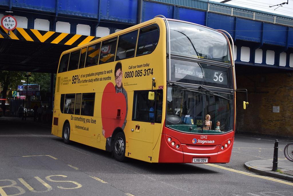 ... Stagecoach London 12142 LX61DDV | by Liam Farrer-Beddall