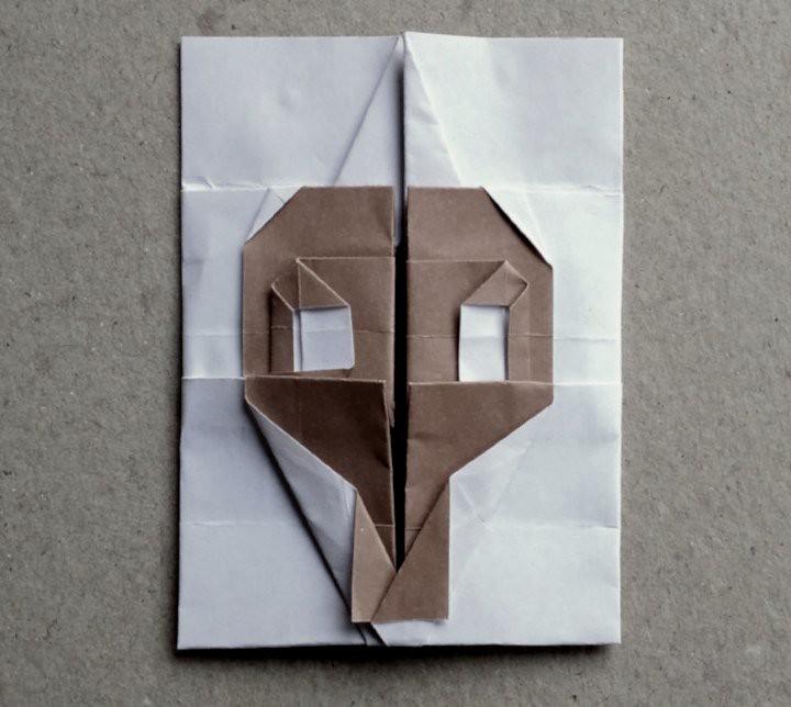 Origami Skullhadi Tahir Video Tutorial Is Available H Flickr