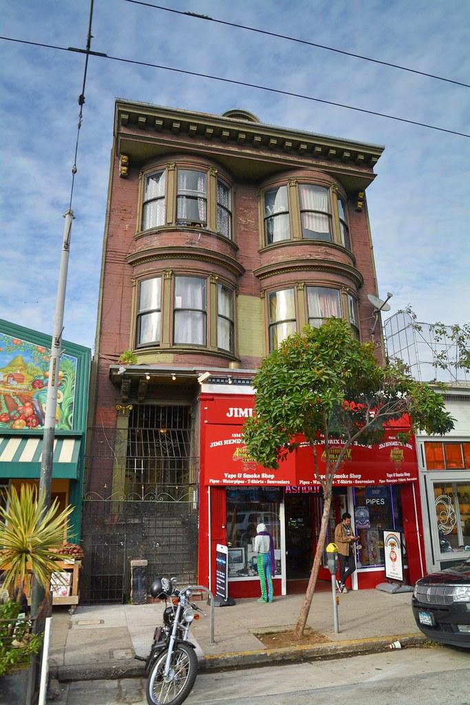 Jimi Hendrix House San Francisco Actually An Appartment
