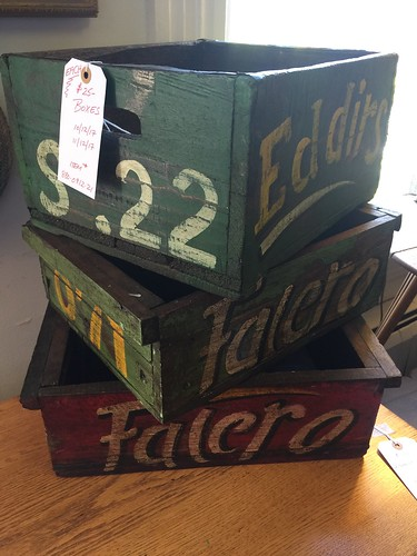Painted boxes $25 each | by Ellaway's Attic