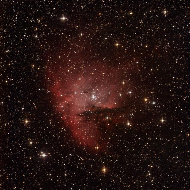 VCSE - NGC 281 fotografikus észlelés - Ágoston Zsolt