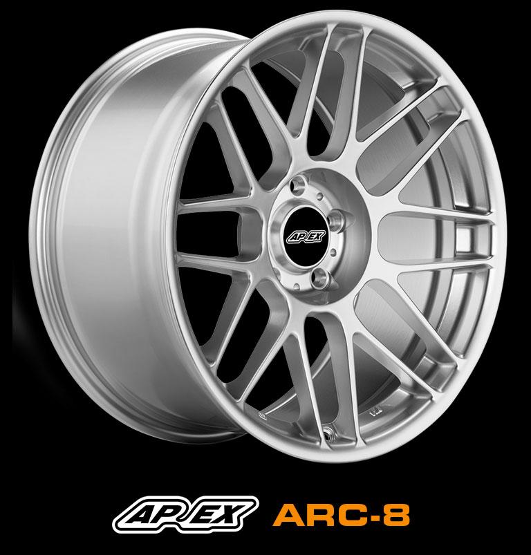 apex arc 8 light weight track wheels