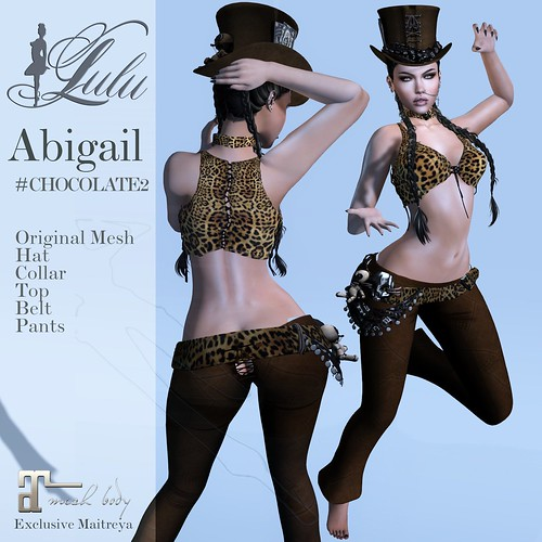 Abigail_Chocolate2 | by LuLu ♛MISS-SL France 2016