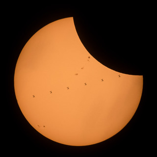 2017 Total Solar Eclipse - ISS Transit | by NASA on The Commons