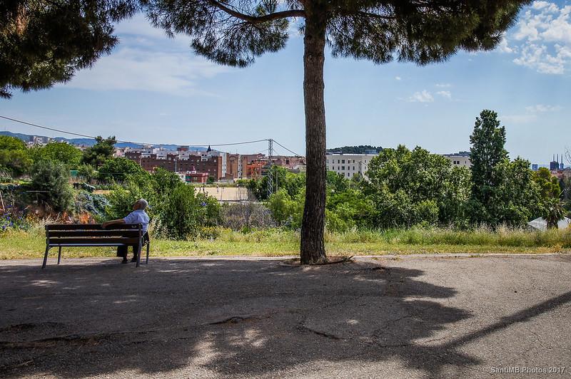 Vistas desde la avenida Cardenal Vidal i Barraquer