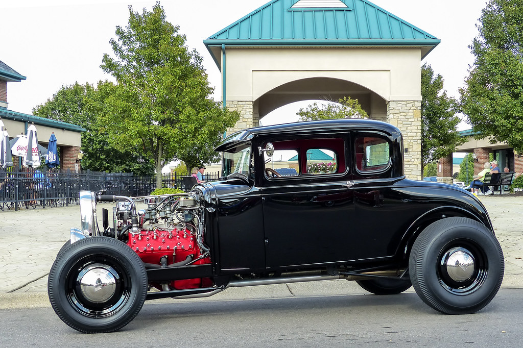 Old School Five Window Ford Coupe Hot Rod | Taken at the Vil… | Flickr