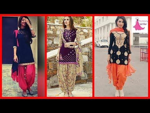 edbc528d25 ... Latest Punjabi Patiala Salwar Suits Designs 2017 - 2018   by The Beauty  Writer
