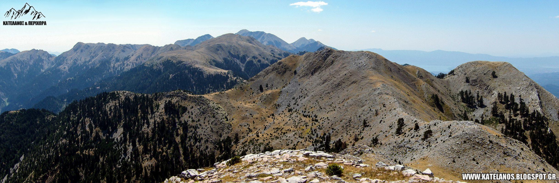 καλοκαιρι στο βουνο παναιτωλικο ορος κορυφες αιτωλοακαρνανια κεδρος παναιτωλικου