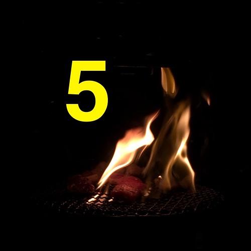 5 five fire