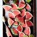 Grilled Watermelon Salad with Arugula and Feta