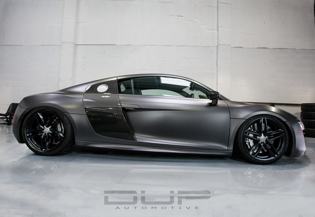 Audi R8 V10 Satin Dark Grey | Wrapped by Monsterwraps.co.uk | Flickr