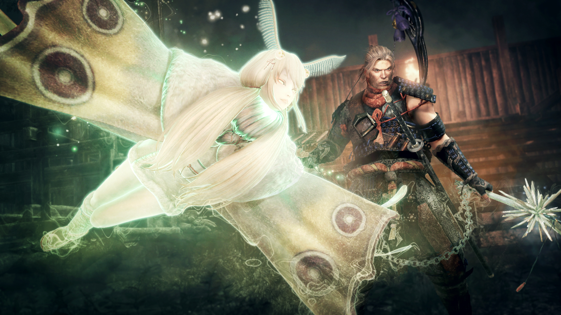 Nioh Bloodsheds End Janomecho Guardian Spirit