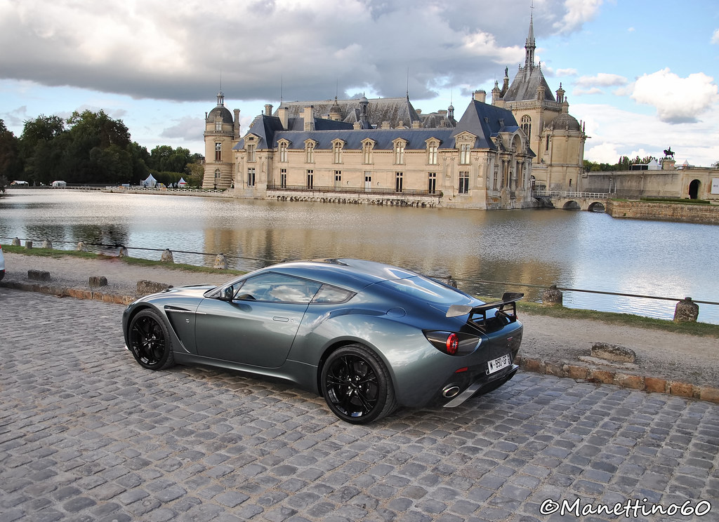 Aston Martin V Zagato And Chateau De Chantilly N Flickr - Aston martin v12 zagato