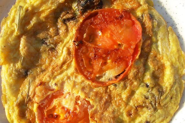 Tomaten-Omelettes ... Brigitte Stolle