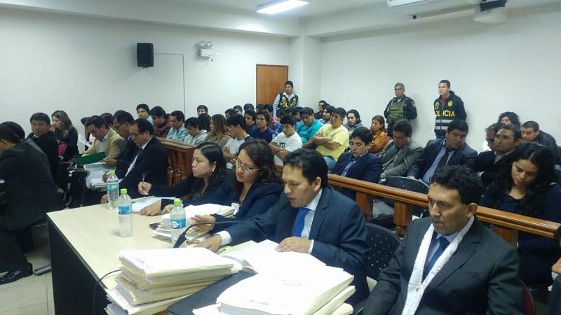 """Fiscalia logra 36 meses de prisión preventiva para 21 presuntos integrantes de organización criminal """"La Jauría del Norte"""" en La Libertad"""