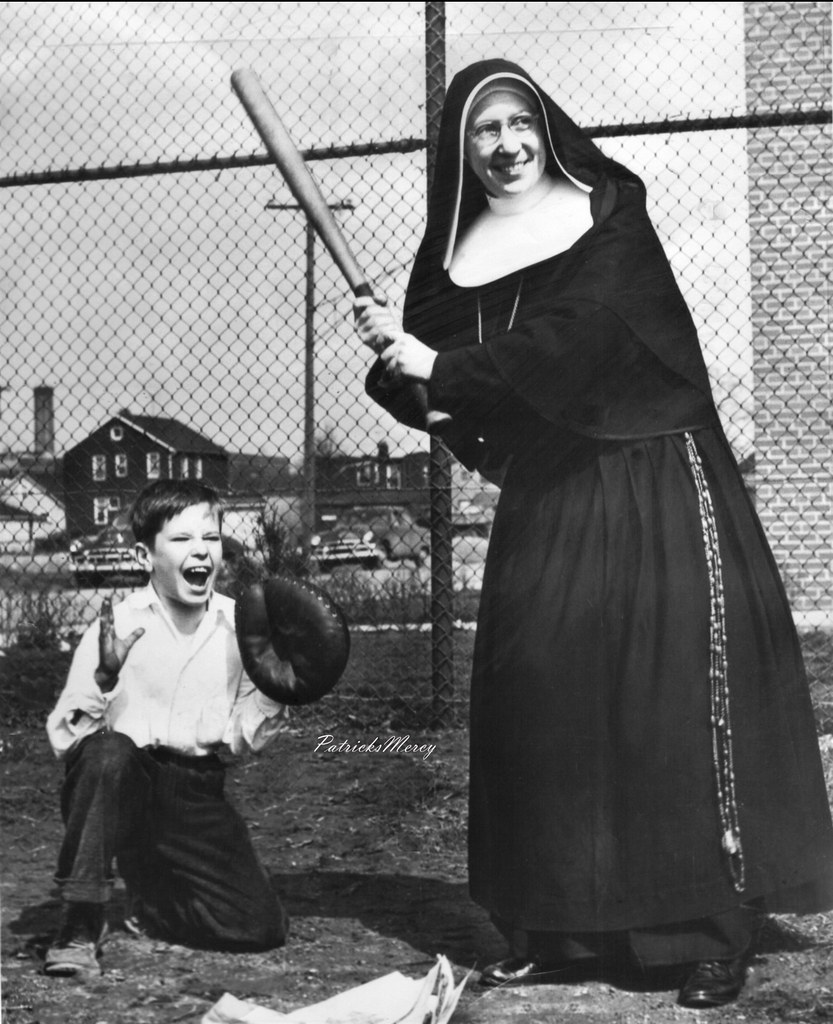 Reverend Mother Claudia Of The Sisters Of Notre Dame De Si