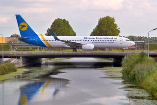Boeing 737 Ukraine International | by TrickyMartin2006