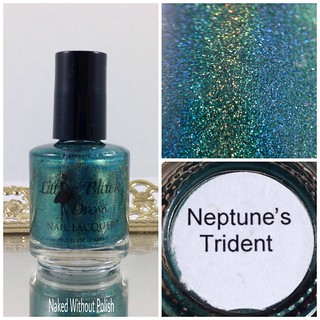 Little-Black-Dress-Nail-Lacquer-Neptunes-Trident-1 | by NakedWithoutPolish