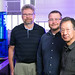 Los Alamos National Laboratory's Piotr Zelenay, Ted Holby and Hoon Chung.