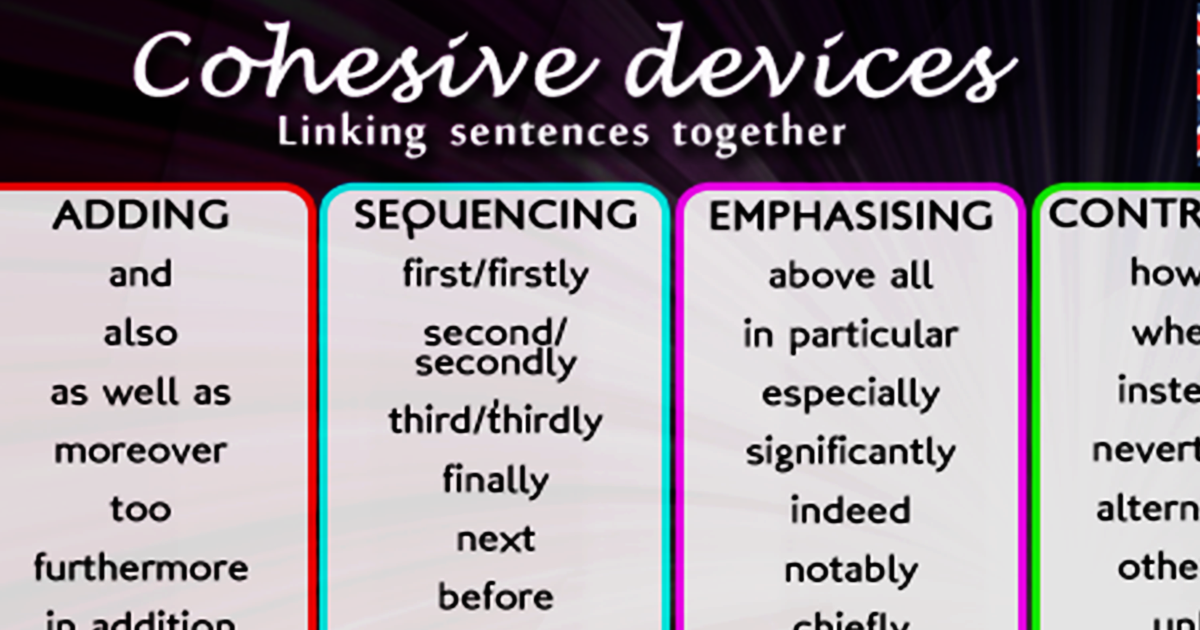 Transitional Words & Phrases for Essay Writing 5